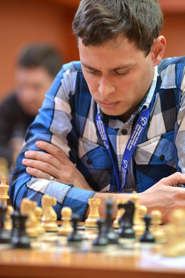 "Evgeny Postny. ""There are no miracles in chess. Full dedication and hard work are absolutely necessary to make progress."""